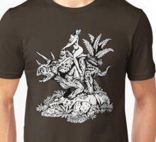 DinoGirl Unisex T-Shirt