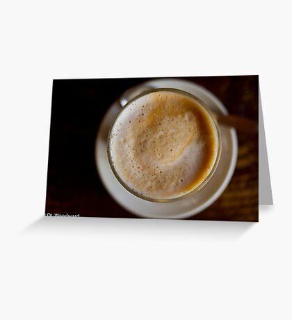 Cafe Break Greeting Card