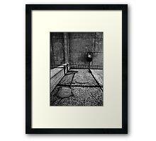 90° Framed Print