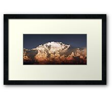 ©HCS The Cumulonimbus Wall IA. Framed Print