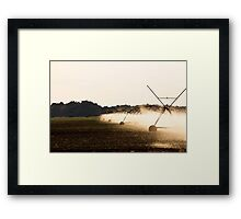 Irrigation... 002 Free State, South Africa Framed Print