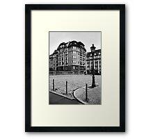 Grünstraßenbrücke Framed Print