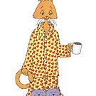 Coffee Cat! by redqueenself