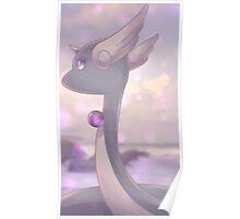 Hakuryu | ハクリュー | Dragonair Poster