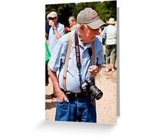 New Canon EOS 5D User Greeting Card