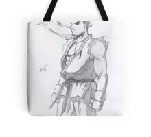 Street Fighter Ryu Tote Bag