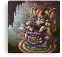 gnome living room  Canvas Print