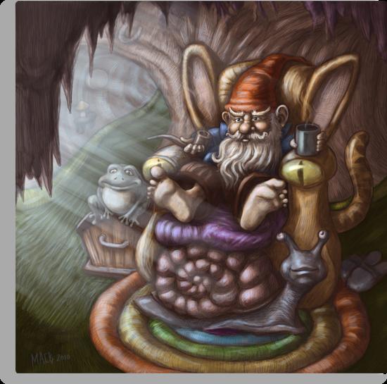 gnome living room  by Michael Brennan