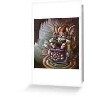gnome living room  Greeting Card