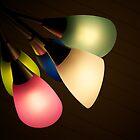 Multicolor lamps extending out by Edmond Leung