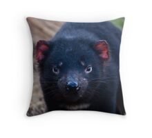 Tasmanian Devil Throw Pillow