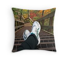 One Step at a Time... Throw Pillow