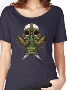 Gas Mask and Trench Knife  Women's Relaxed Fit T-Shirt