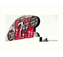 Fresh Up! with 7up Art Print