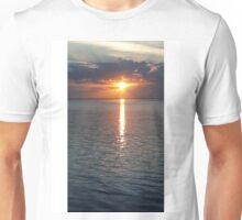 Sunset vertical Unisex T-Shirt