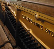 The soul of an old piano by Amy Rawlings