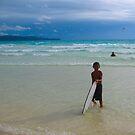 On the beach II by Denis Molodkin
