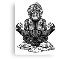 Swami Chimp Canvas Print