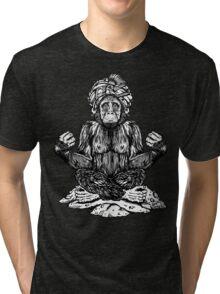 Swami Chimp Tri-blend T-Shirt