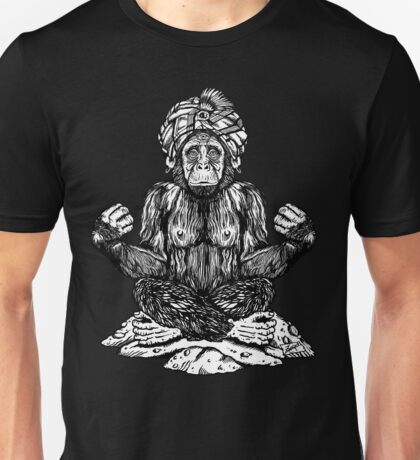 Swami Chimp Unisex T-Shirt
