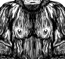 Swami Chimp Sticker
