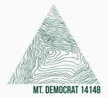 Mount Democrat Topo by januarybegan