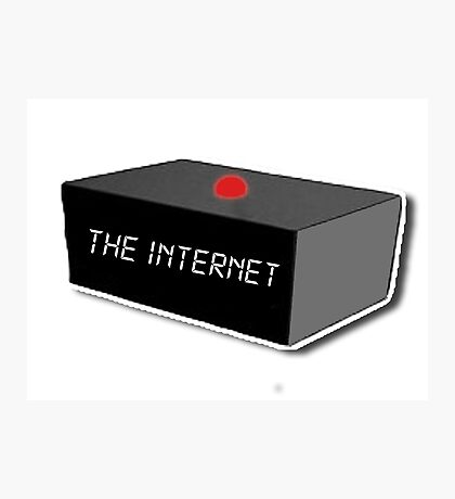 The Internet - The IT Crowd Photographic Print