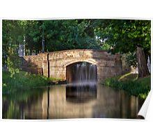 The Bridge - Grand Canal, Dublin, Ireland Poster