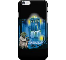 May the Tardis be with You iPhone Case/Skin
