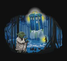 May the Tardis be with You by JohnBealDesign