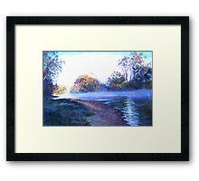 'Rising Mist' Framed Print