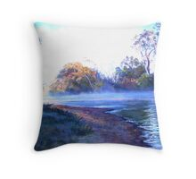 'Rising Mist' Throw Pillow