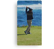 Perfect Swing Canvas Print