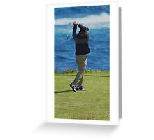 Perfect Swing Greeting Card