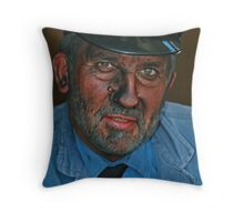 Engine Driver Throw Pillow