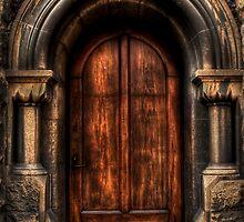 Old Magistrates Court Door by Scott Sheehan
