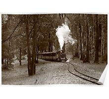 Puffing Billy, Victoria Poster
