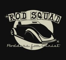 ROD SQUAD - Club Shirt - B&W alternative  T-Shirt