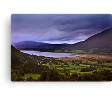Dawn - In The Lakes. Canvas Print
