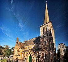 St Pauls Parish Church by Simon Marsden