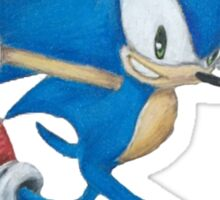 Sonic the Hedgehog Prismacolor Drawing Sticker