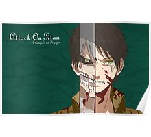 Eren Yeager Poster