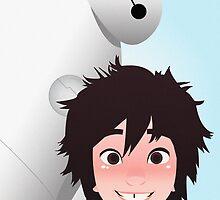 Hiro and Baymax by laprasthebold