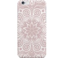Swirly Stuff (White Version) iPhone Case/Skin