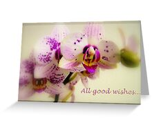 All good wishes... Greeting Card