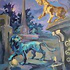 Midnight game at Royale Avenue II, Bath by RitaLazaro