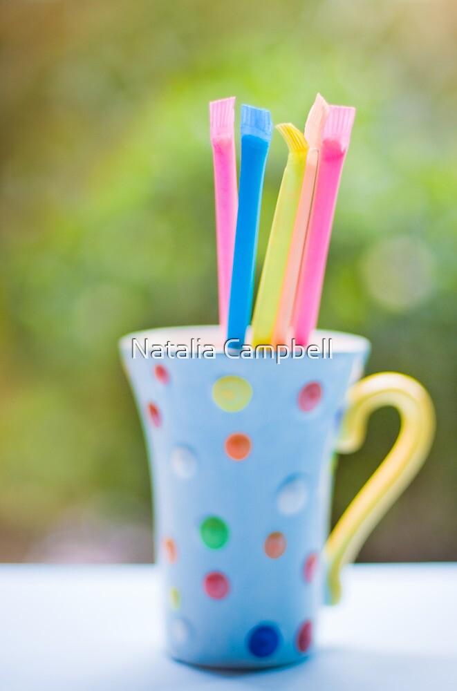 .sherbet straws. by Natalia Campbell