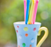 .sherbet straws. by Natalia Campbell
