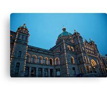 British Columbia Legislature, Canada Canvas Print