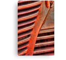 That Distillery Red Truck Canvas Print